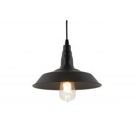 Lampa sufitowa wisząca Nordic Loft E27 czarna
