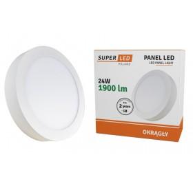 Panel natynkowy LED 24W biały zimny