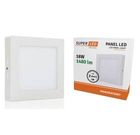 Panel natynkowy LED 18W biały ciepły