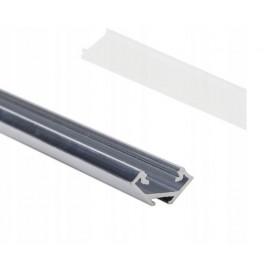 Profil aluminiowy anodowany 2m typ C surowy