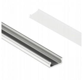 Profil aluminiowy anodowany 2m typ D surowy