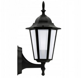 Lampa elewacyjna kinkiet ogrodowy latarnia E27