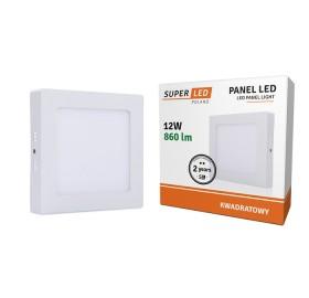 Panel natynkowy LED 12W neutralny