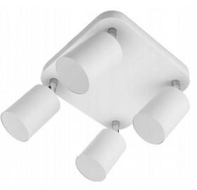 Kinkiet Spot oprawa halogenowa biała x 4 GU10