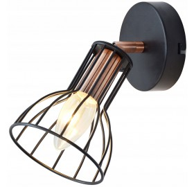 Kinkiet lampa ścienna Loft E14