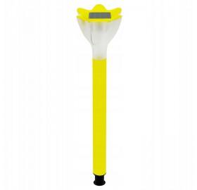 Lampa Ogrodowa LED SOLARNA żółty tulipan