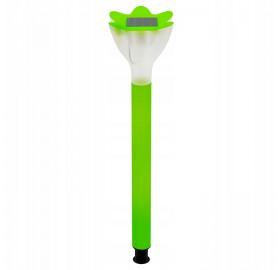 Lampa Ogrodowa LED SOLARNA zielony tulipan