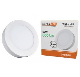 Panel natynkowy LED 12W biały ciepły