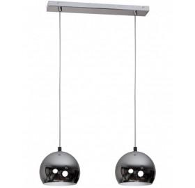 Lampa Ball Decor podwójna chrom