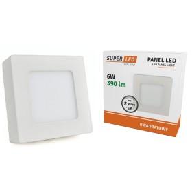 Panel natynkowy LED 6W biały ciepły