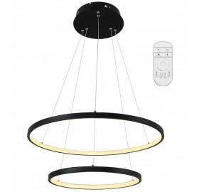 Lampa wisząca LED RING 38W + pilot