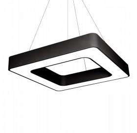 Lampa LED wisząca liniowa biurowa ring 72W 60 cm
