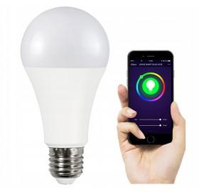 Żarówka LED SMART 11W WW-CW+RGB Wi-Fi TUYA
