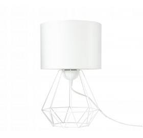 Lampka nocna Loft E27 biała