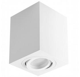Oprawa natynkowa GU10 kwadratowa biała