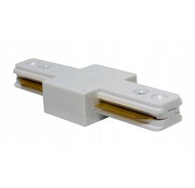 Łącznik liniowy do szyn oświetleniowych LINEA biały