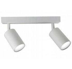 Lampa sufitowa halogenowa GU10 SPOTI 2 biała