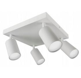Lampa sufitowa halogenowa GU10 SPOTI 4 biała