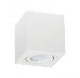 Oprawa natynkowa GU10 OH kwadratowa biała