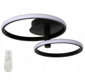 Lampa sufitowa PLAFON ring żyrandol LED 40W pilot