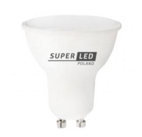 Żarówka SLP LED GU10 8W biała ciepła
