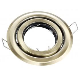 Oprawa wpuszczana GU10 okrągła antyk