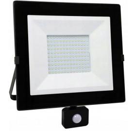 Naświetlacz LED 100W  z czujnikiem ruchu