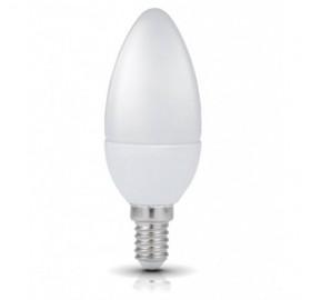 Żarówka LED E14 8W świeczka zimna