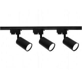 Zestaw Szynoprzewód Szyna 1m + 3x Lampa GU10 LED