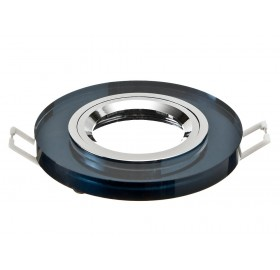 Oprawa wpuszczana GU10 okrągła czarna
