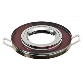 Oprawa wpuszczana GU10 okrągła fioletowa