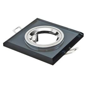 Oprawa wpuszczana GU10 kwadratowa czarna