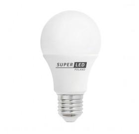 Żarówka LED E27 10W kulka biała zimna