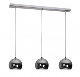 Lampa wisząca Ball Chrome 3x E27