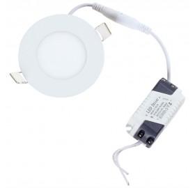 Panel wpuszczany LED 3W neutralny