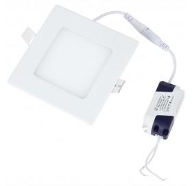 Panel wpuszczany LED 6W biały ciepły