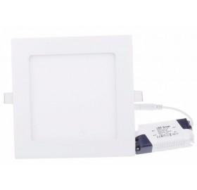 Panel wpuszczany LED 12W biały zimny