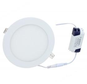 Panel wpuszczany LED 12W biały ciepły