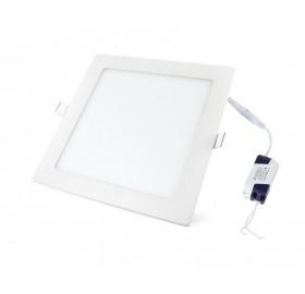 Panel wpuszczany LED 18W biały ciepły