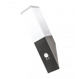 Lampa elewacyjna ogrodowa kinkiet E27 z czujnikiem ruchu