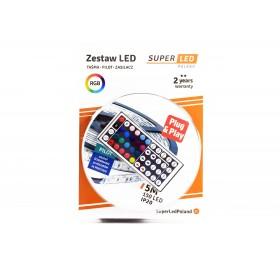 Zestaw Taśma 5m 150 LED RGB IP20