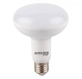 Żarówka LED E27 R80 9W biała zimna