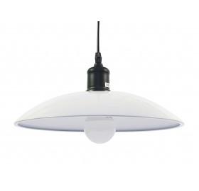 Lampa sufitowa wisząca Skandynawska E27 LED biała