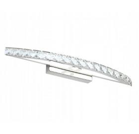 Kinkiet łazienkowy LED 10W 44cm srebrny