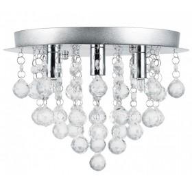 Plafon lampa żyrandol kryształowy 3x E14