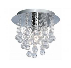 Plafon lampa żyrandol kryształowy 1x E27
