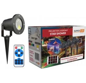 Projektor Laserowy Star Shower Laser 3 kolory 2018