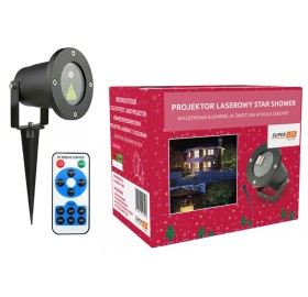 Projektor Laserowy Star Shower Laser 2 kolory TV