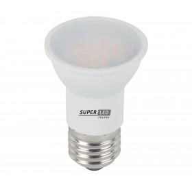 Żarówka LED E27 JDR 5W biała ciepła