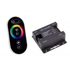 Kontroler sterownik radiowy RF dotykowy LED RGB